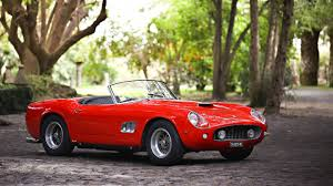 Ferrari California Vintage - is this ferrari 250 gt swb california spider the most italian car