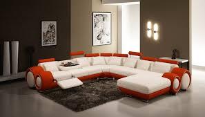 grand canap en u moderne salon grand coin canapé en forme de u canapé en cuir coupe
