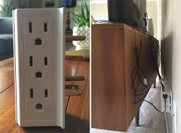 Hide Desk Cables Remodelaholic 95 Ways To Hide Or Decorate Around The Tv