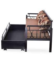 nilkamal flint fabric sofa bed buy nilkamal flint fabric