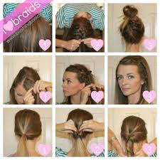 quick hairstyles for long hair at home quick and easy hair styles 14 pretty hairstyle tutorials for 2015