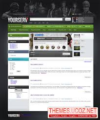 website templates for ucoz yourserv template for ucoz games templates themes ucoz net