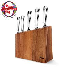 amazon com knife sets home u0026 kitchen knife block sets steak