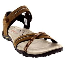 womens merrell terran cross nubuck velcro sport shoes flip flops