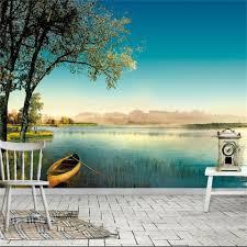 3d Wallpaper Home Decor Online Get Cheap Beautiful Tree Wallpaper Aliexpress Com