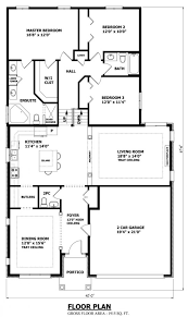 front to back split house front back split level house plans with attached garage modern