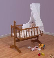 Swinging Crib Bedding Sets Broderie Anglais 3piece Swinging Crib Bedding Set Ebay