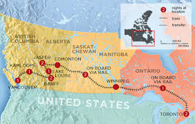 trans canada experience by train
