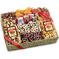 gourmet food gift baskets chocolate caramel and crunch grand gift basket