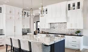 houzz blue kitchen cabinets houzz s most viewed kitchen photos of 2019