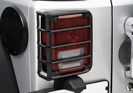 jeep wrangler brake light cover rugged ridge jeep wrangler black powder coat rear tail light euro