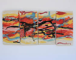abstract home decor etsy