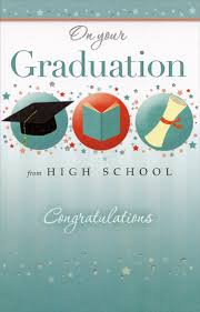 high school graduation cards 3 graduation symbols and tiny high school graduation card
