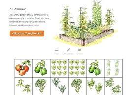 Companion Garden Layout Garden Planting Planner Garden Planner Vegetable Garden Planting