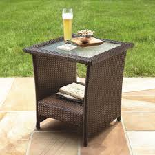 Glass Top Patio Table Parts by Patio Tables Outdoor Tables Sears