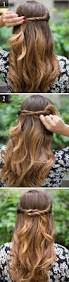 12 simple u0026 easy hairstyles for girls who are always in a hurry