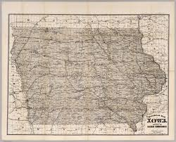 Iowa Maps Railroad Map Of Iowa David Rumsey Historical Map Collection