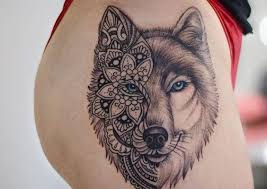 wolf top 150 wolf tattoos so far this year