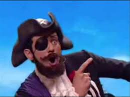 You Are A Pirate Meme - you are a pirate mixed up lazytown youtube