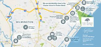 Wilmington Nc Map The Park Scotts Hill Village Legacyhomesbybillclark