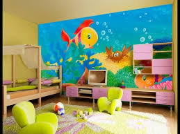 amazing interior design for kids room color combination paint 2015