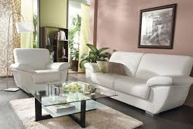 canapé cuir blanc conforama conforama salon cuir photo 3 20 une table de salon en verre sur