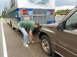 rving the usa is our big backyard flat tire thank goodness for