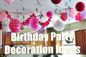 1st birthday party decorations at home birthday party decorations in home first birthday party favors diy