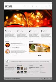 di u0027verso a html template versatile and responsive