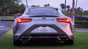lexus small truck 2018 lexus lc 500 lexus moves into the fast lane 95 octane