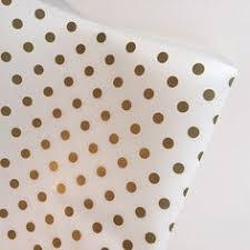 gold polka dot tissue paper pink and gold tissue paper petal forrest etsy