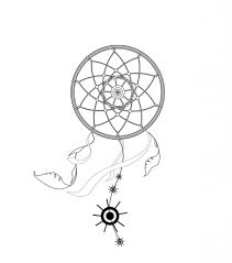 simple dreamcatcher drawing 12 pics of simple dream catcher