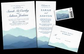 mountain wedding invitations with mountain wedding invi