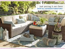 Pier 1 Imports Sofas Outdoor Living Room Patio Ideas With Brown Lacquered Wicker Pier