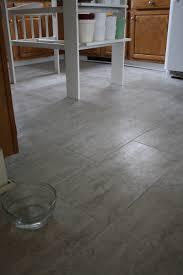 kitchen floor white wooden island base brown cabinets gray