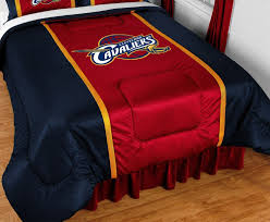 Nba Bed Set Nba Cleveland Cavaliers Bed Comforter Basketball Team
