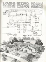 mid century modern floor plans vintage house plans mid century homes u shaped houses vintage