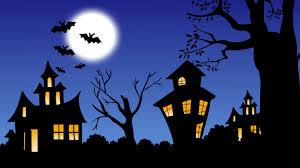 halloween owls halloween desktop wallpaper 1366 x 768