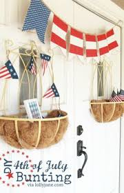 4th Of July Bunting Decorations How To Make Paper Flowers From Lunch Sack Bags An Easy And