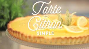 cuisine tarte au citron tarte au citron simple cuisineaz