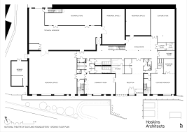 ground floor plan gallery of rockvilla national theatre of scotland hq hoskins