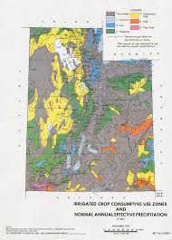 Maps Of Utah by Utah Deq Topics Irrigation Zone Map