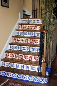 diy network home design software mexican tile staircase stairs interior design ideas small home