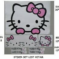 barang sejenis stiker mobil kitty princess bukalapak
