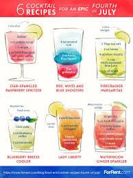 printable shot recipes 6 cocktail recipes for an epic fourth of july