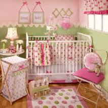 Pink And Green Crib Bedding Polka Dot Baby Bedding Crib Nursery Sets Save 50 Baby