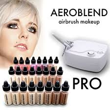 best professional airbrush makeup system aeroblend airbrush makeup pro starter kit