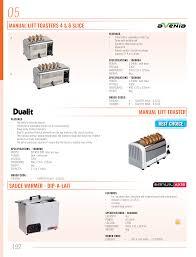 Dualit 6 Slice Toaster Omni Catering Equipment