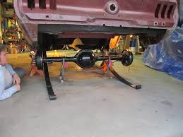 67 mustang rear end width rear axle and suspension installation