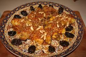 cuisine choumicha poulet tajine de poulet aux pruneaux et amandes choumicha cuisine